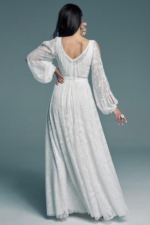 Biała suknia ślubna obok której nie przejdziesz obojętnie Porto 54