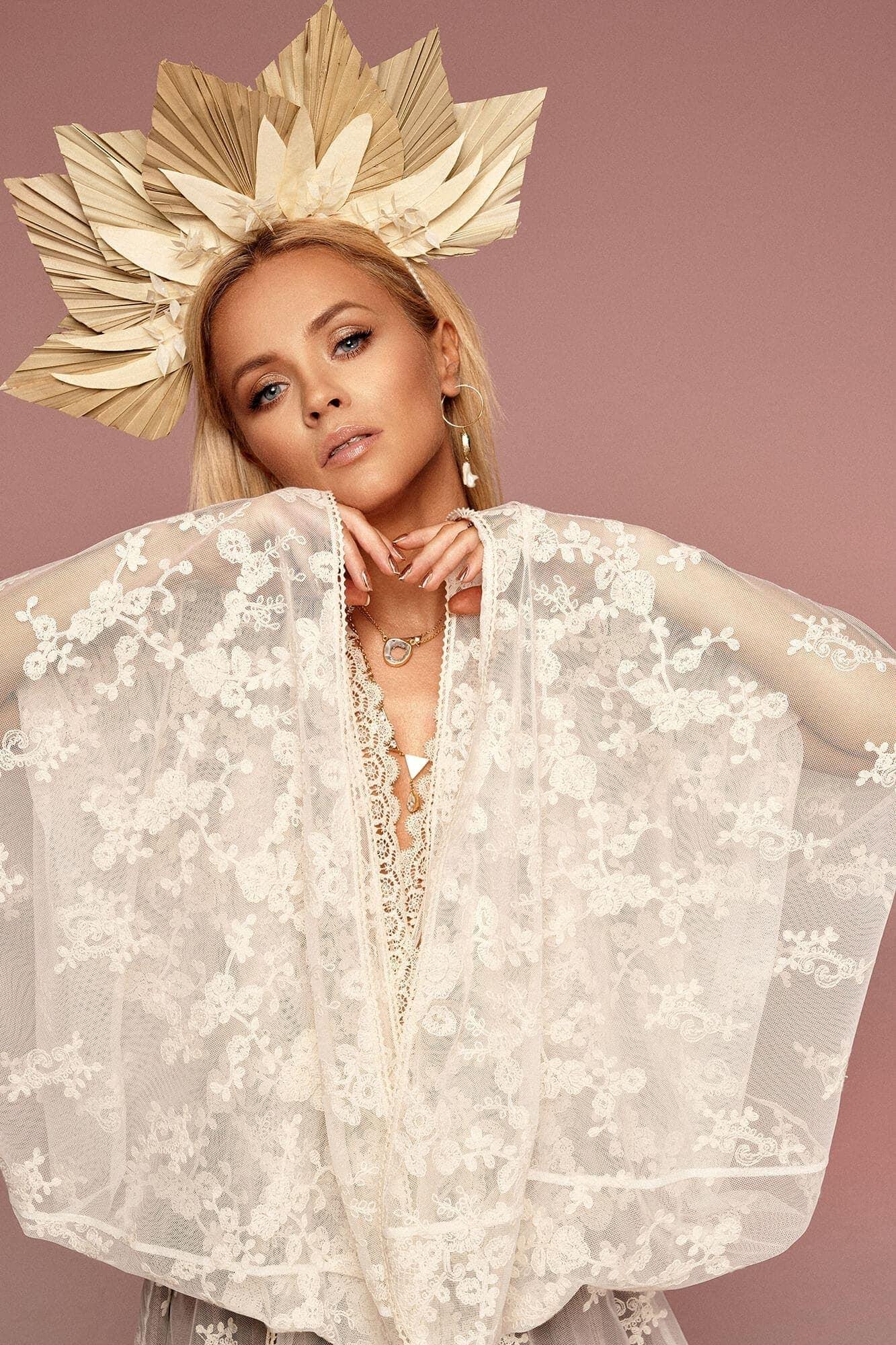 Bluzka - kimono z koronki no. 12 Haute Couture collection Haute Couture 12