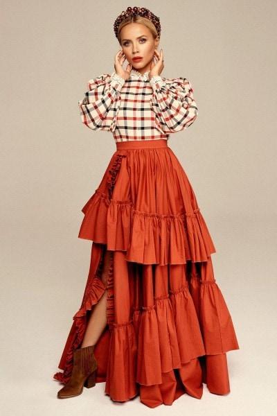 Spódnica w stylu hiszpańskim no. 5 Haute Couture collection Haute Couture 5