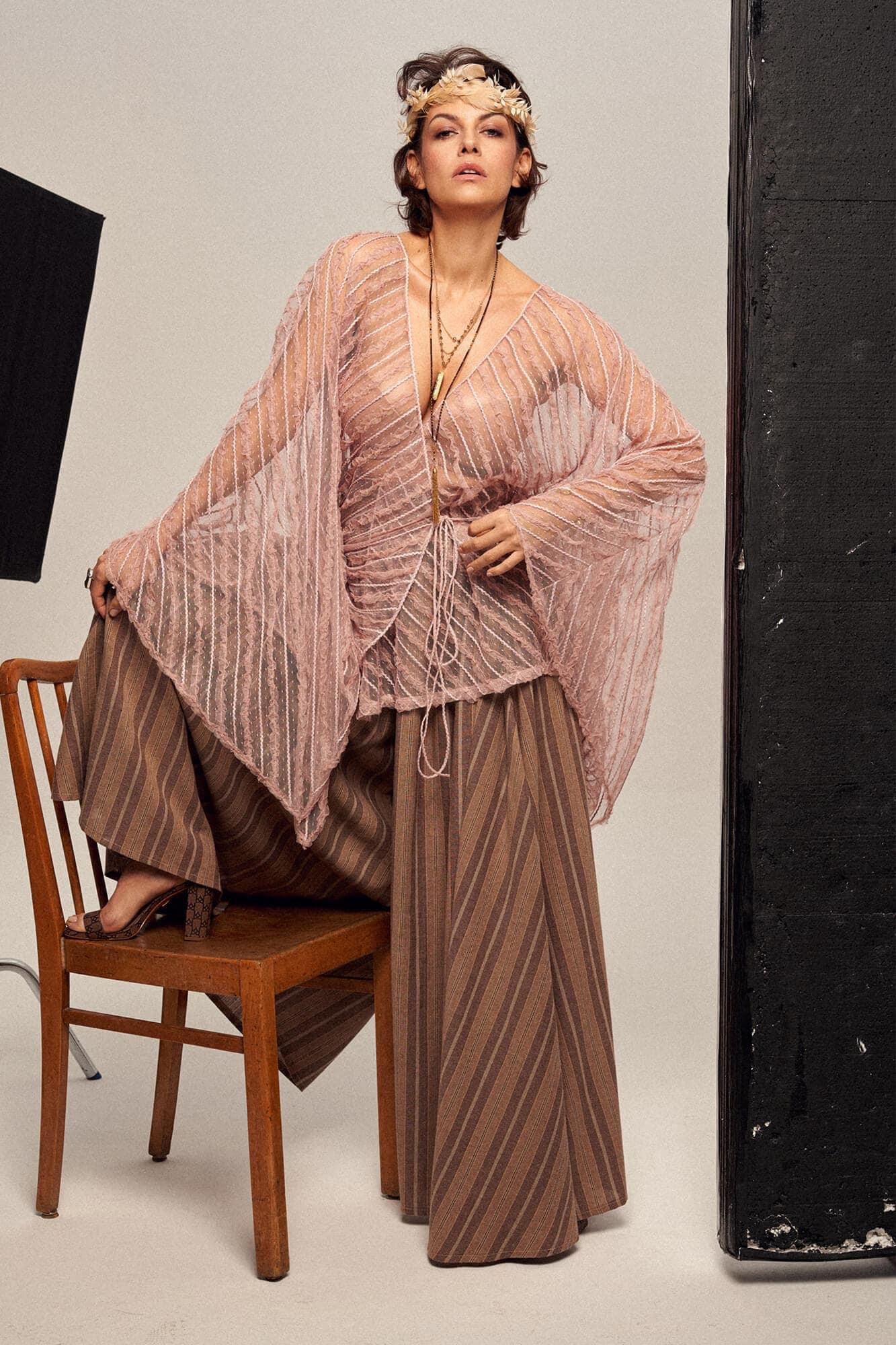 Transparent kimono no. 16 Haute Couture collection Haute Couture 16