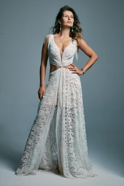 One of a kind, extravagant wedding dress. Porto 43